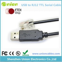 FTDI USB to RJ12 programming cable