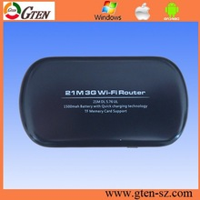 2015 Mobile WiFi Hotspots 3G SIM Card pocket 21.6M tenda 3g wireless modem router