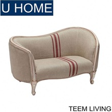 TEEM FURNITURE living room furniture frech style mini sofa child sofa antique baby sofa