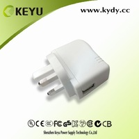 5v 0.5a usb power adapter & mini travel charger & 5v power supply for cell phone