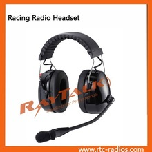 Newest Motorcycle helmet two way radio headset with boom microphone