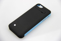 Battery charger case cover 2200mAh External Backup Battery Pack Power Bank Adapter Charger Case For iPhone 5 5S