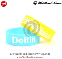 2014 Newest rubber hand band bracelet | updated rubber wristbands | Promotion Customized rubber hand band bracelet