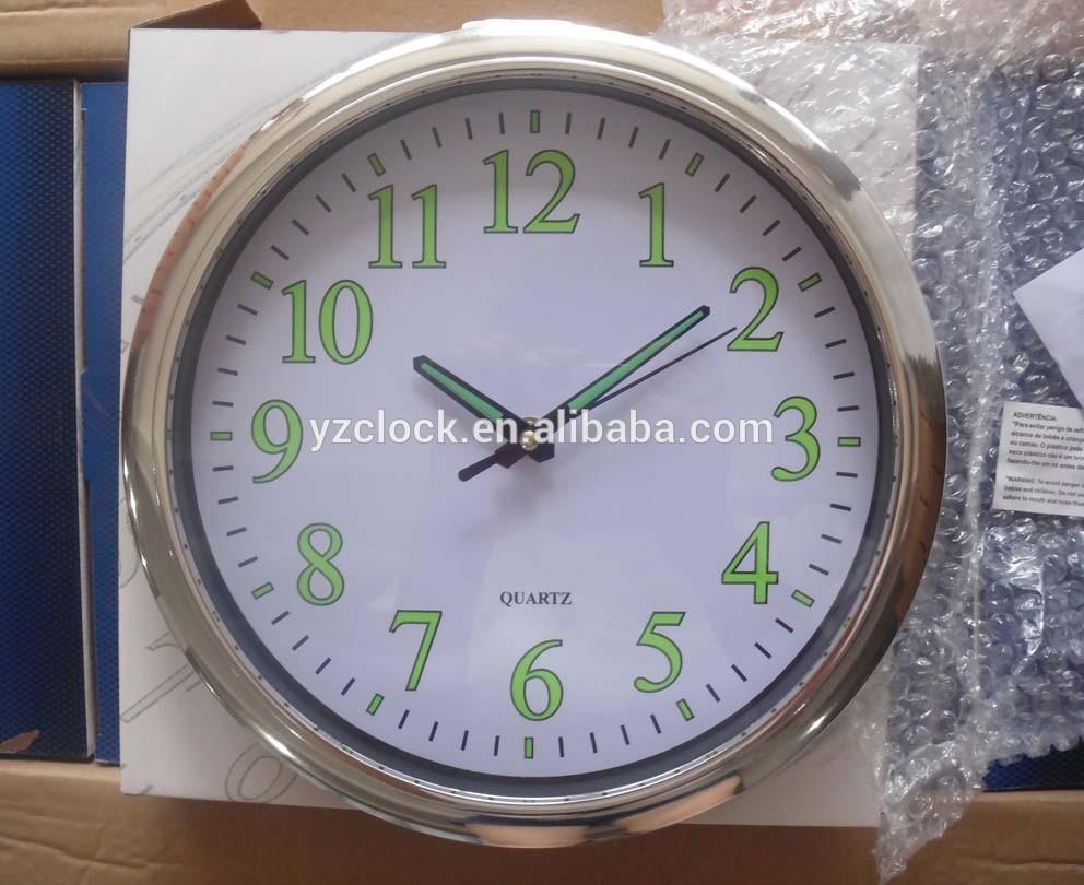 glow in the dark wall clock luminous wall clock buy glow