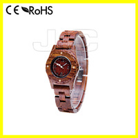 2015 digital wood wristwatch and cheap wooden smart watch mobile phone with wooden watch display