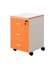 different handles colorful metal mobile storage cabinet with drawer locking