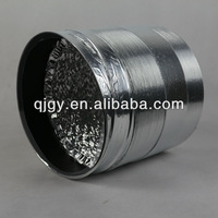 single wall pu duct Small bending radius aluminum insulation flexible duct hose