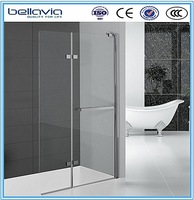 New design folding walk in shower bath shower screens free standing shower screen