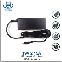 Low price OEM laptop AC adapter for acer 19v 2.15a