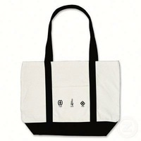 Customized canvas tote bag design