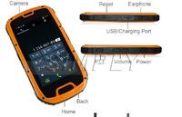 Latest android 4.4 active best dual sim rugged waterproof cell phone