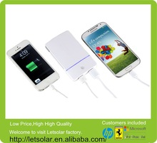 Wholesale Dual USB port universal power bank charger portable power bank 100000 mah