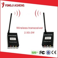 High Quality 2.4 G 2w Wireless Audio Video sender Transmitter Receiver