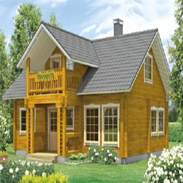두- 이야기 큰 나무 조립식 휴대용 집 및 고품질의 목조 별장 ...