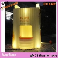 Advertising Inflatable photo Booth with LED (Inflatable Bar)