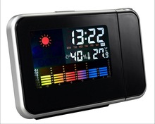 Weather Forecast Desktop Clock With Thermometer