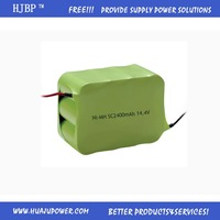 custom design nimh battery pack 6.0V 2/3aa 600mAh Ni-MH rechargeable battery