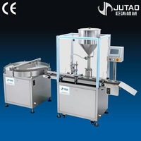 Automatic plastic bottle filling machine automatic shampoo filling and capping machine automatic ointment filling machine