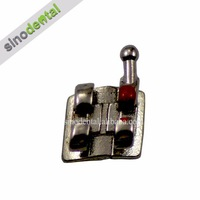 Sino Dental Orthodontic New MIM Brackets Sandblasted mini roth 022