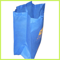 Organ Bag light blue Non Woven Bag Gusset Bag