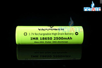 50A vappower 18650 Original vappower battery 2500mah 50A 3.7v high power 18650 rechargeable battery PK aw imr 18650