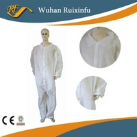 Disposable Nonwoven Coverall without Cap