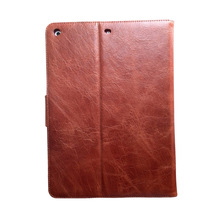 For ipad 2 3 4 5 6 smart cover genuine leather shock case