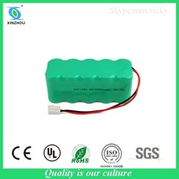 7.2v nimh 2500mah rechargeable batteries for cordless drills
