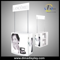Dima Economic PP&PE trade show podium,promotional stand