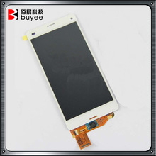 Top quality digitizer complete for Sony Z3 mini LCD with Touch Screen