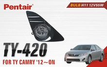 Front Bumper Position and Plastic Material fog lamp for CAMRY 12
