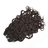 very cheap virgin indian curly wick hair extensions