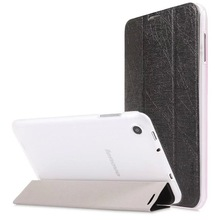 Smart folio cover leather case for lenovo A7-30 A3300 leather case