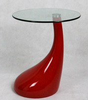 SJ-053# fiber glass Coffee Table/elliptical coffee table