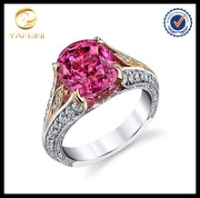 China factory wholesale classical platinum plated silver ring