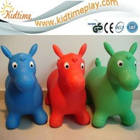 kids inflatable jumping horse