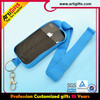 High quality hot sell printed polyester custom diy cell phone strap