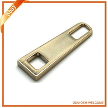 gold plated zipper slider and puller for clothing