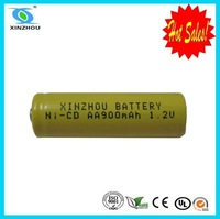 Good performance ni-cd rechargeable battery aa900mah