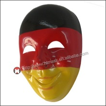 High Quality Halloween Costume Party Funny Smiling Old Man plastic Mask cosplay Germany flag mask
