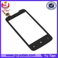 High Quality Front Glass A390 Black Lcd Touch Screen For Lenovo A390