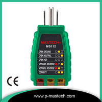 3 Wire / GFCI Outlet Tester MS112