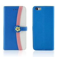 free sample flip cover mobile phone case for i phone 6 plus