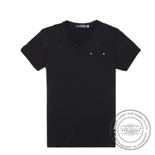 hot sale silk/cotton hemp fiber tshirt