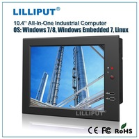 "LILLIPUT 10.4"" X86 Fanless Mini Pc with 1.86GHz dual-core CPU PC-1041"