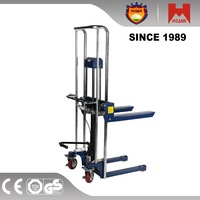Manual forklift manual pallet stacker,manual stacker,hand stacker