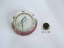 2015 officer lady best choose 3.0 Bird Picture Round Purse Hanger for you lovely bag