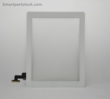 for iPad 2 touch screen display digitizer +tape +camera bracket +home button half assembly