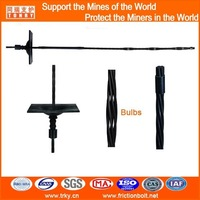 18.9mm black bulb enlarged anchoring Cable bolt for rock strata
