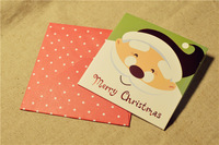 Funny Printed Paper Christmas Greeting Card Making Kit